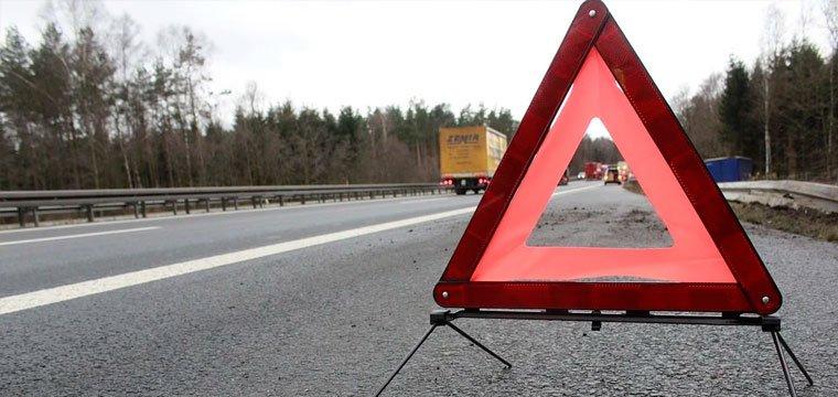 triangulo señalizar accidente