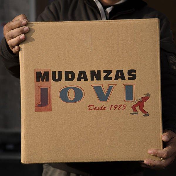 Caja de cartón embalaje mudanzas Jovi