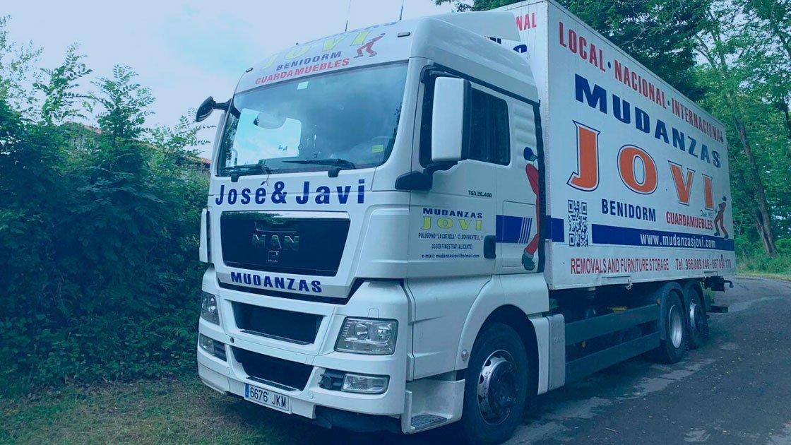 Empresa de servicios de mudanzas y transportes