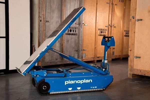 Elevador Pianoplan - Movimiento para posicionar carga en Vertical