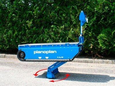 Elevador Pianoplan - Rotación central