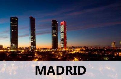 Servicio de mudanzas para Madrid